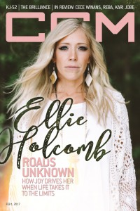 Cover of CCM Digital, 1 Feb 2017, featuring Ellie Holcomb
