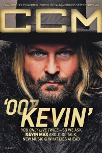 Cover of CCM Digital, 1 Jul 2017, featuring Kevin Max