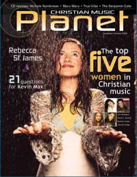 Cover of Christian Music Planet, Sep / Oct 2002, featuring Rebecca Saint James
