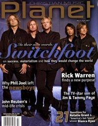 Cover of Christian Music Planet, Mar / Apr 2007 v. 6, i. 2, featuring Switchfoot