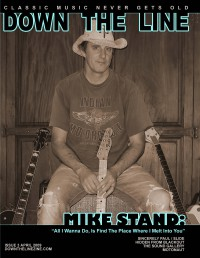 Cover of Down The Line, Apr 2009 #3, featuring Mike Stand