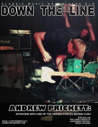 Cover of Down The Line, Sep 2013 #15, featuring Andrew Prickett