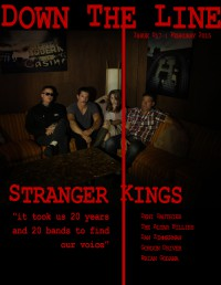 Cover of Down The Line, Feb 2015 #17, featuring Stranger Kings