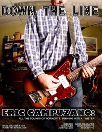 Cover of Down The Line, Oct 2010 #8, featuring Eric Campuzano