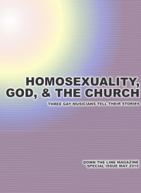 Cover of Down The Line, May 2010, featuring Homosexuality, God, & the Church