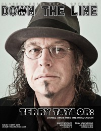 Cover of Down The Line, May 2011 #10, featuring Terry Scott Taylor