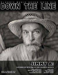 Cover of Down The Line, Feb 2012 #12, featuring Jimmy Abegg