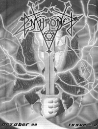Cover of Enthroned, Oct 1999 #2
