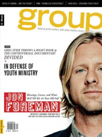 Cover for November 2011, featuring Jon Foreman
