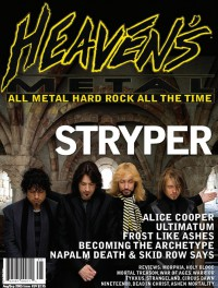 Cover of Heaven's Metal, Aug / Sep 2005 #59, featuring Stryper
