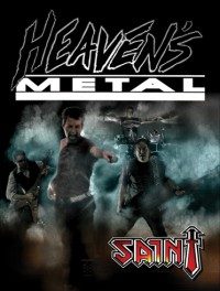 Cover of Heaven's Metal, Oct / Nov 2009 #83, featuring Saint