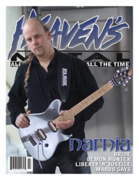 Cover of Heaven's Metal, Apr / May 2006 #63, featuring Narnia