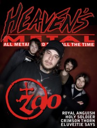 Cover of Heaven's Metal, Jun / Jul 2006 #64, featuring Zao