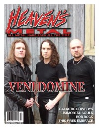 Cover of Heaven's Metal, Dec 2007 / Jan 2008 #72, featuring Veni Domine