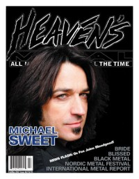 Cover of Heaven's Metal, Feb / Mar 2007 #67, featuring Michael Sweet