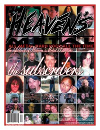 Cover of Heaven's Metal, Apr / May 2007 #68, featuring The Subscriber's Issue