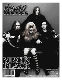 Cover of Heaven's Metal, Jun / Jul 2007 #69, featuring Virgin Black