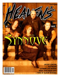 Cover of Heaven's Metal, Aug / Sep 2008 #76, featuring Synnove