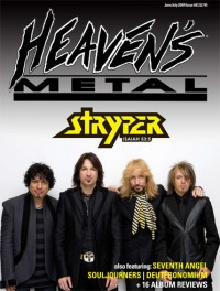 Cover of Heaven's Metal, Jun / Jul 2009 #81, featuring Stryper