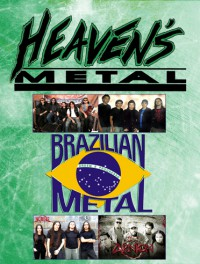 Cover of Heaven's Metal, Aug / Sep 2009 #82, featuring Brazilian Metal Scene