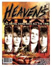 Cover of Heaven's Metal, Jun / Jul 2010 #85, featuring Legacy