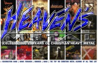 Cover of Heaven's Metal, Sep 2010 #86, featuring 25 Years of Christian Metal