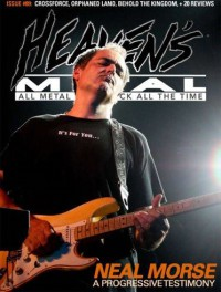 Cover of Heaven's Metal, Nov / Dec 2011 #89, featuring Neal Morse