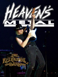 Cover of Heaven's Metal, Jan 2011 #87, featuring Rex Carroll