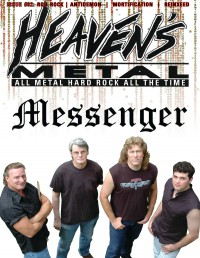 Cover of Heaven's Metal, Sep 2012 #92, featuring Messenger