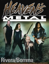 Cover of Heaven's Metal, Mar 2013 #97, featuring Rivera / Bomma
