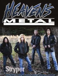 Heaven's Metal, Apr 2013 #98 featuring Stryper