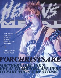 Cover of Heaven's Metal, May 2013 #99, featuring ForChristSake