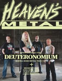 Cover of Heaven's Metal, Jul 2013 #101, featuring Deuteronomium