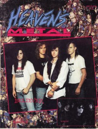 Cover of Heaven's Metal, Feb / Mar 1991 #28, featuring Believer