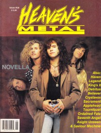 Heaven's Metal, May / June 1992 #35