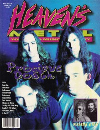 Cover of Heaven's Metal, Nov / Dec 1994 #50, featuring Precious Death