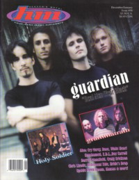 Cover of HM, Dec 1995 / Jan 1996 #56, featuring Guardian