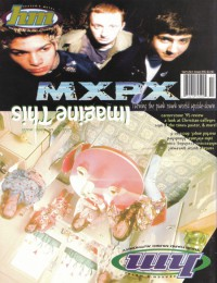 Cover of HM, Sep / Oct 1995 #55, featuring MxPx
