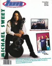 Cover of HM, Feb / Mar 1996 #57, featuring Michael Sweet