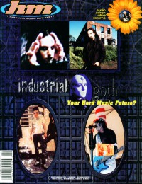 Cover of HM, Jan / Feb 1998 #69, featuring Industrial / goth