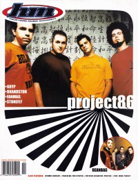 Cover of HM, Nov / Dec 1999 #80, featuring Project 86