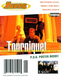 Cover of HM, Jan / Feb 2000 #81, featuring Tourniquet