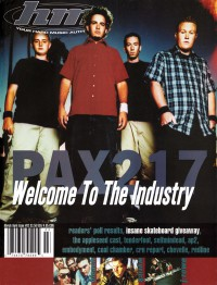 Cover of HM, Mar / Apr 2000 #82, featuring PAX217