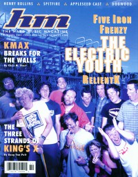 Cover of HM, Nov / Dec 2001 #92, featuring Relient K, Five Iron Frenzy