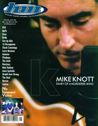 Cover of HM, May / Jun 2001 #89, featuring Mike Knott