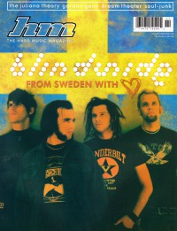 Cover of HM, Nov / Dec 2002 #98, featuring Blindside