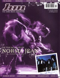 Cover of HM, Jul / Aug 2002 #96, featuring Norma Jean