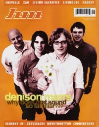 Cover of HM, Sep / Oct 2002 #97, featuring Denison Marrs