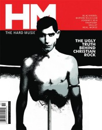 Cover of HM, Nov / Dec 2003 #104, featuring The Ugly Truth Behind Christian Rock