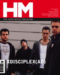 Cover of HM, Jan / Feb 2003 #99, featuring XdiscipleX AD
